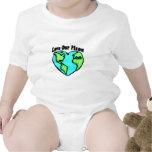 Ame nuestro planeta trajes de bebé