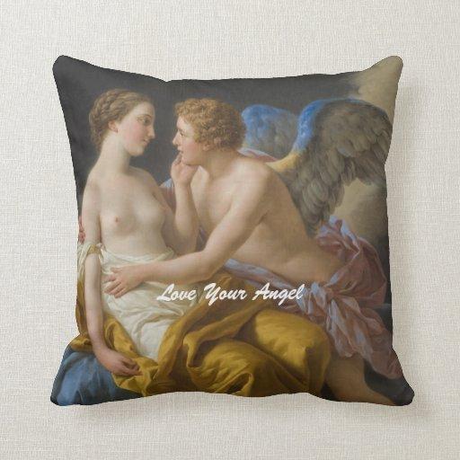 ame su ángel almohada