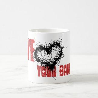 Ame su banda tazas de café