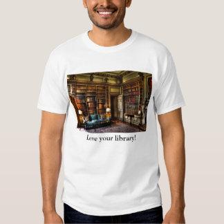 ¡Ame su biblioteca! Playera