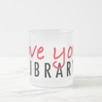 Ame su biblioteca taza