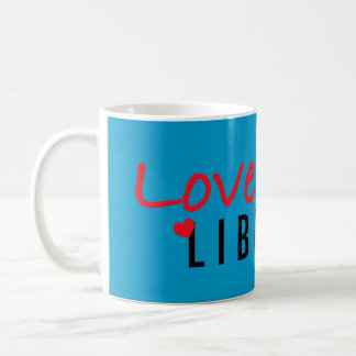 Ame su biblioteca taza de café