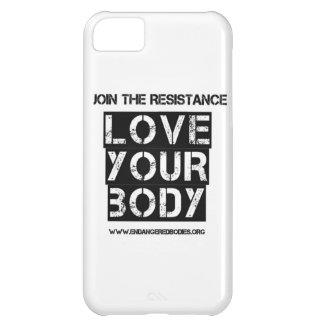 Ame su caso del iPhone del cuerpo Carcasa Para iPhone 5C