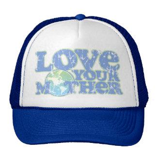 Ame su gorra del camionero de la madre tierra