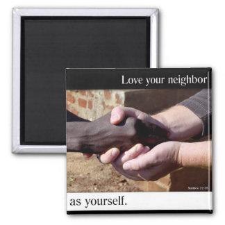 Ame su imán vecino