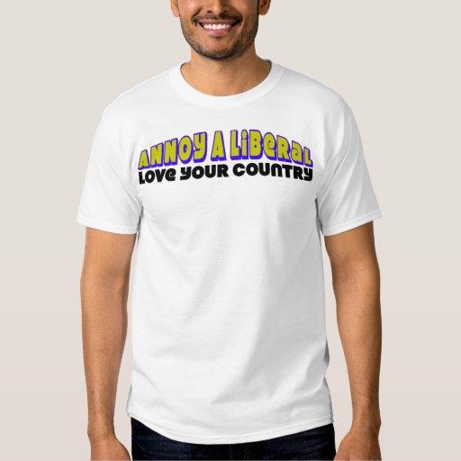 ¡Ame su país! Camisas