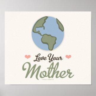 Ame su poster de la madre tierra