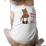 Ame su 'rescate del caballo de NEIGH'bor Camiseta De Mascota