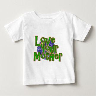 ¡Ame su reserva de la madre (tierra) el planeta! Playeras