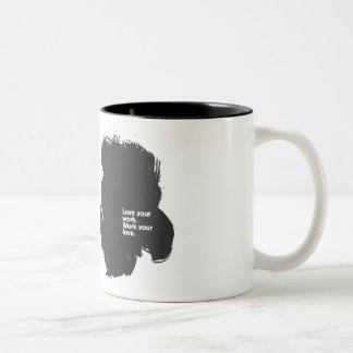 Ame su taza de café del trabajo