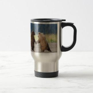 Ame su taza del viaje del oso