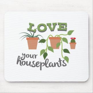 Ame sus Houseplants Alfombrilla De Raton