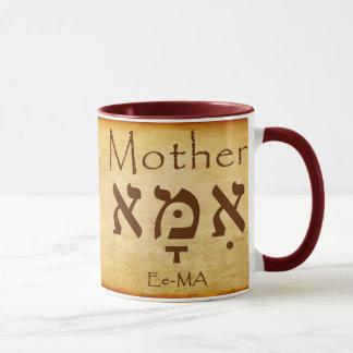 AME - TAZA DEL HEBREO DE LA MADRE