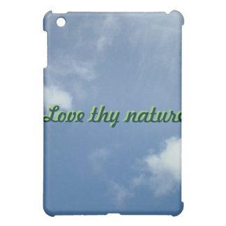 Ame thy caso del iPad de la nube de la naturaleza
