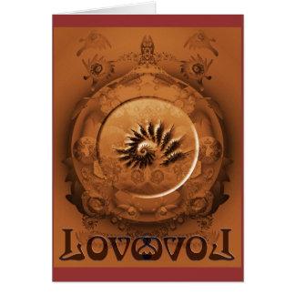 Ame todas las maneras siempre tarjeta de felicitación