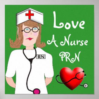 Ame un poster de la enfermera PRN