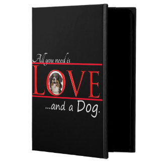 Ame una caja del aire del iPad del perro de Bernes