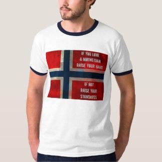 Ame una camisa o una sudadera con capucha noruega
