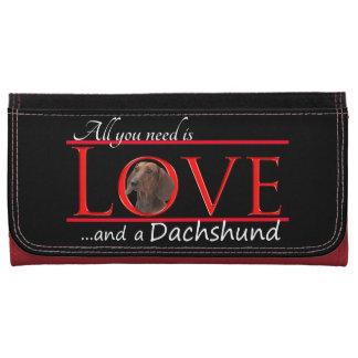 Ame una cartera del Dachshund