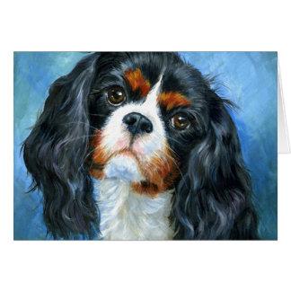 Ame una tarjeta de felicitación arrogante del perr