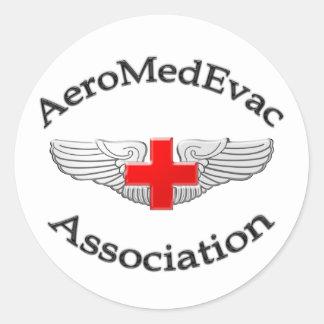 AMEA Logo 2009 version Classic Round Sticker