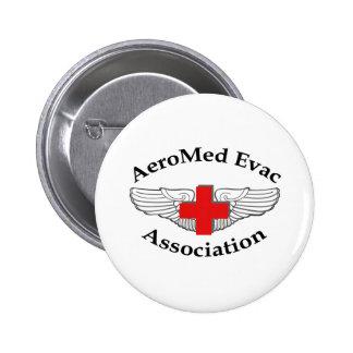 AMEA Logo drop shadow version Pinback Button