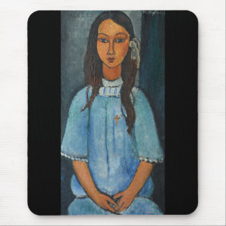 Amedeo Clemente Modigliani and Alice Mouse Pad