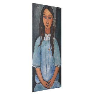 Amedeo Modigliani - Alice Canvas Print
