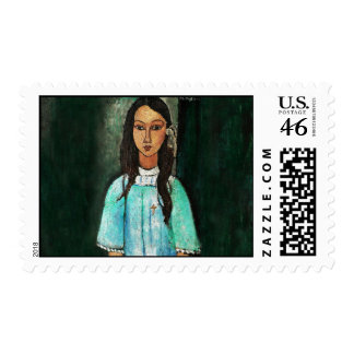 Amedeo Modigliani Alice Italian Expressionism Art Postage Stamps