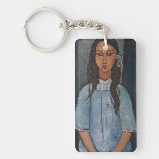 Amedeo Modigliani - Alice Single-Sided Rectangular Acrylic Keychain