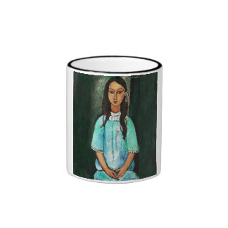 Amedeo Modigliani Alice Vintage Girl Painting Art Coffee Mugs