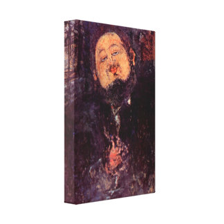 Amedeo Modigliani - Diego Rivera Lona Estirada Galerías