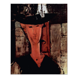 Amedeo Modigliani - Lady With Hat Poster