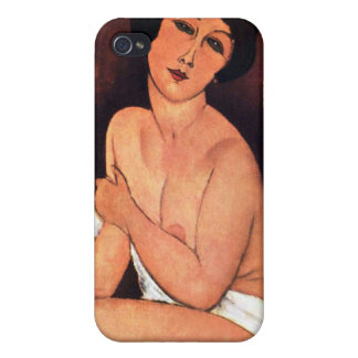 Amedeo Modigliani Large Seated Woman Cover For iPhone 4