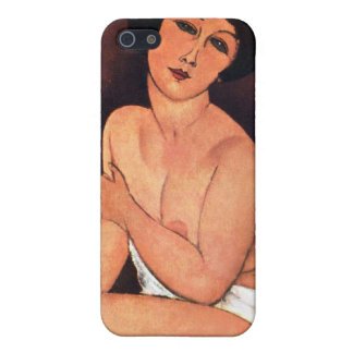 Amedeo Modigliani Large Seated Woman Cover For iPhone 5/5S