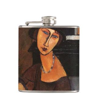 Amedeo Modigliani, Portrait Jeanne Hebuterne Flask