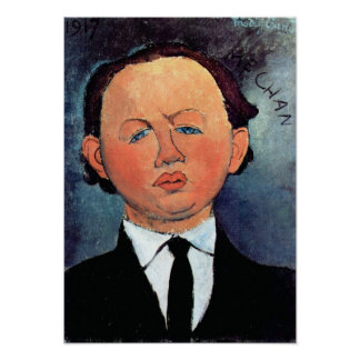 Amedeo Modigliani - Portrait of Mechan Poster