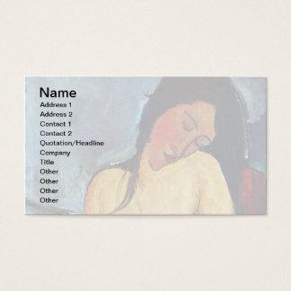 Amedeo Modigliani - Seated Female Business Card