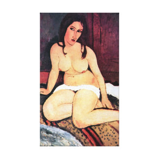 Amedeo Modigliani - Seated Woman Canvas Print