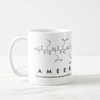Ameer peptide name mug