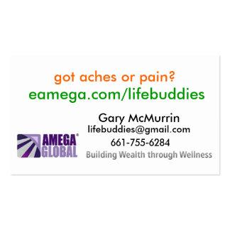 Amega business card