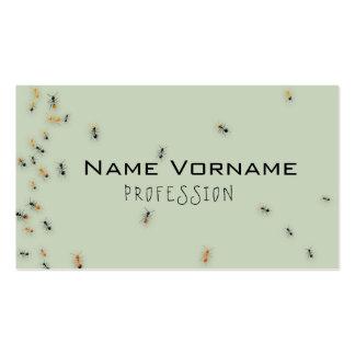 ameisen tarjetas de visita