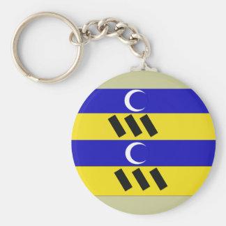 Ameland, Netherlands Basic Round Button Keychain