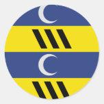 Ameland, Netherlands Classic Round Sticker
