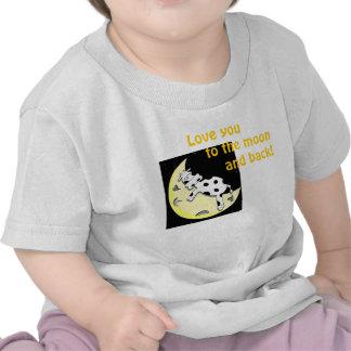 Ámele a la luna camiseta