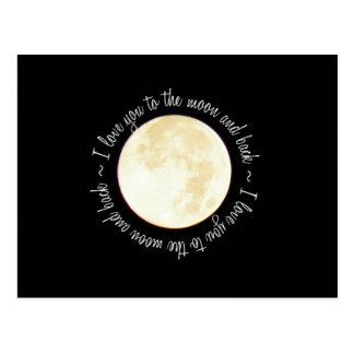 Ámele a la luna postal