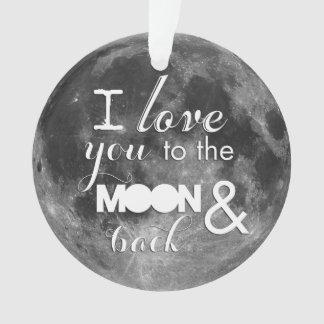 Ámele a la luna y a la parte posterior