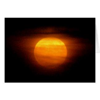 ¡Ámele a la luna y a la parte posterior! Tarjeta De Felicitación