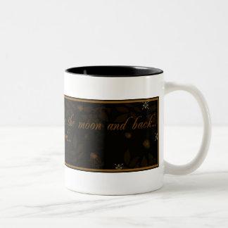 Ámele a la taza de café de la luna