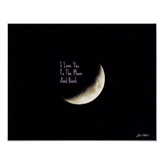 Ámele al poster de la luna